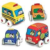 Melissa & Doug K's兒童回力車套裝 4輛裝