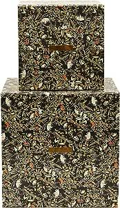 House Doctor Sk1522 Storages Floral 黑色