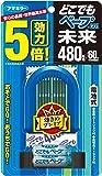 どこでもベープGO!未來 驅蚊器組合裝  480 小時(60 天)藍色 正裝+替換裝