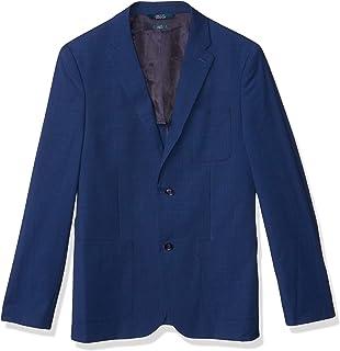 Perry Ellis 男式修身纯色纹理西装外套