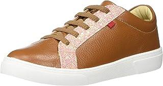 MARC JOSEPH 纽约儿童男孩/女孩皮革巴西制造奢华闪耀一脚蹬运动鞋