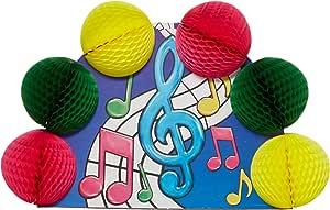 Musical Notes Pop-Over Centerpiece Party Accessory (1 count) (1/Pkg)