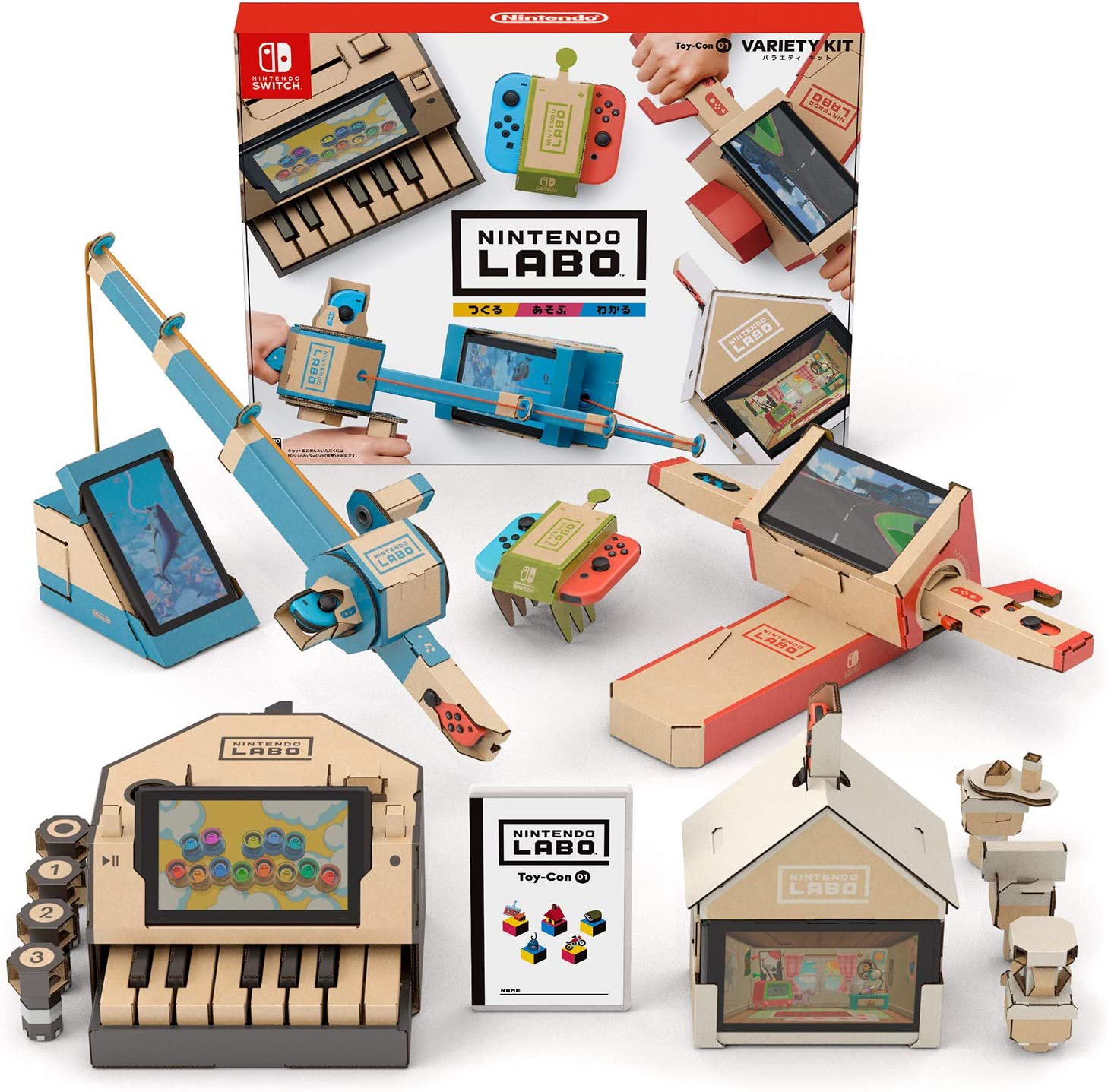 Nintendo 任天堂 Switch Nintendo Labo Variety Kit 五合一套件