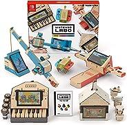 任天堂 Nintendo Labo Toy-Con: Variety Kit-Switch 五合一综合套装 (无亚马逊限定配件, 需要配合switch主机)