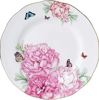 Royal Albert Miranda Kerr Friendship 40001558 细骨瓷盘,白色,20厘米