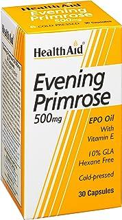 HealthAid Evening Primrose Oil 500 mg - 30 Capsules