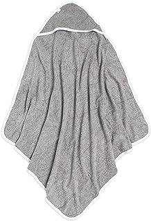 Burt's Bees 婴儿-连帽毛巾,吸水针织毛圈布,超柔软单层,棉(Heather灰色,1件)