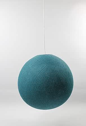 棉球灯 绿松石色 25 厘米 吊灯 单个,棉,25 厘米