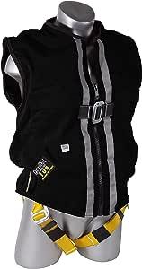 Guardian 秋季保护黑色网格结构抹胸背带 XL 02630