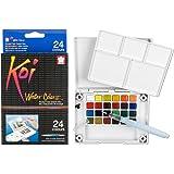 KOI 水颜色口袋 FIELD 素描 BOX W/brush-2(1个装)