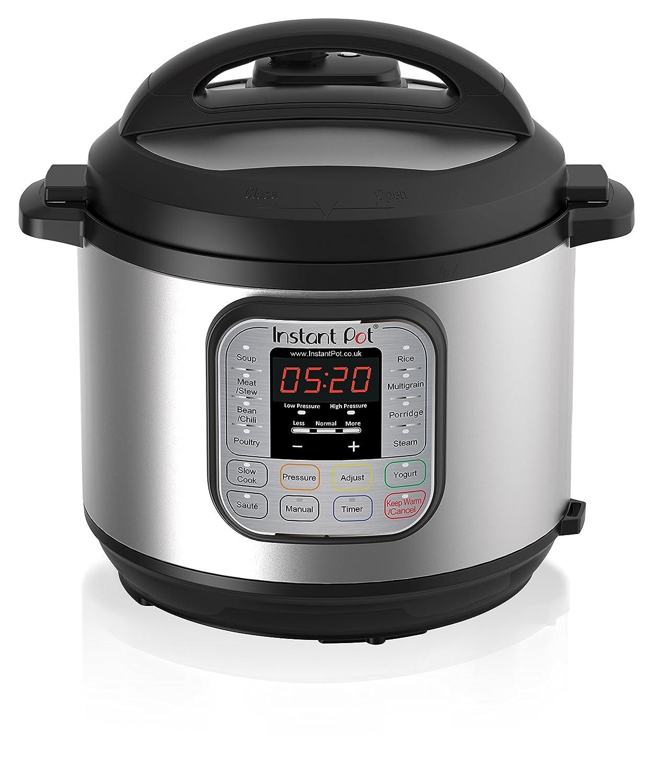 Instant Pot Duo七合一电压力锅 6升 1000瓦 拉丝不锈钢/黑色