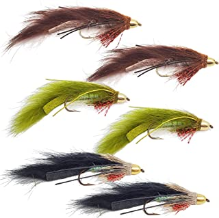 The Fly Crate Conehead Muddy Bunny Streamer 花朵   Fly Fishing for Trout Bass Pike