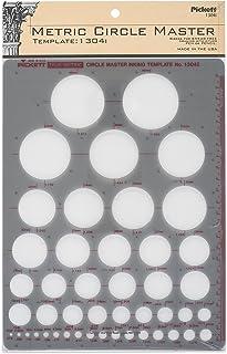 Pickett 等轴测六角螺母和头模板 10 Metric Circle Master 绿色
