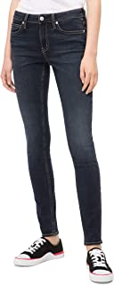 Calvin Klein 卡尔文·克莱恩 女式 中腰超紧身牛仔裤
