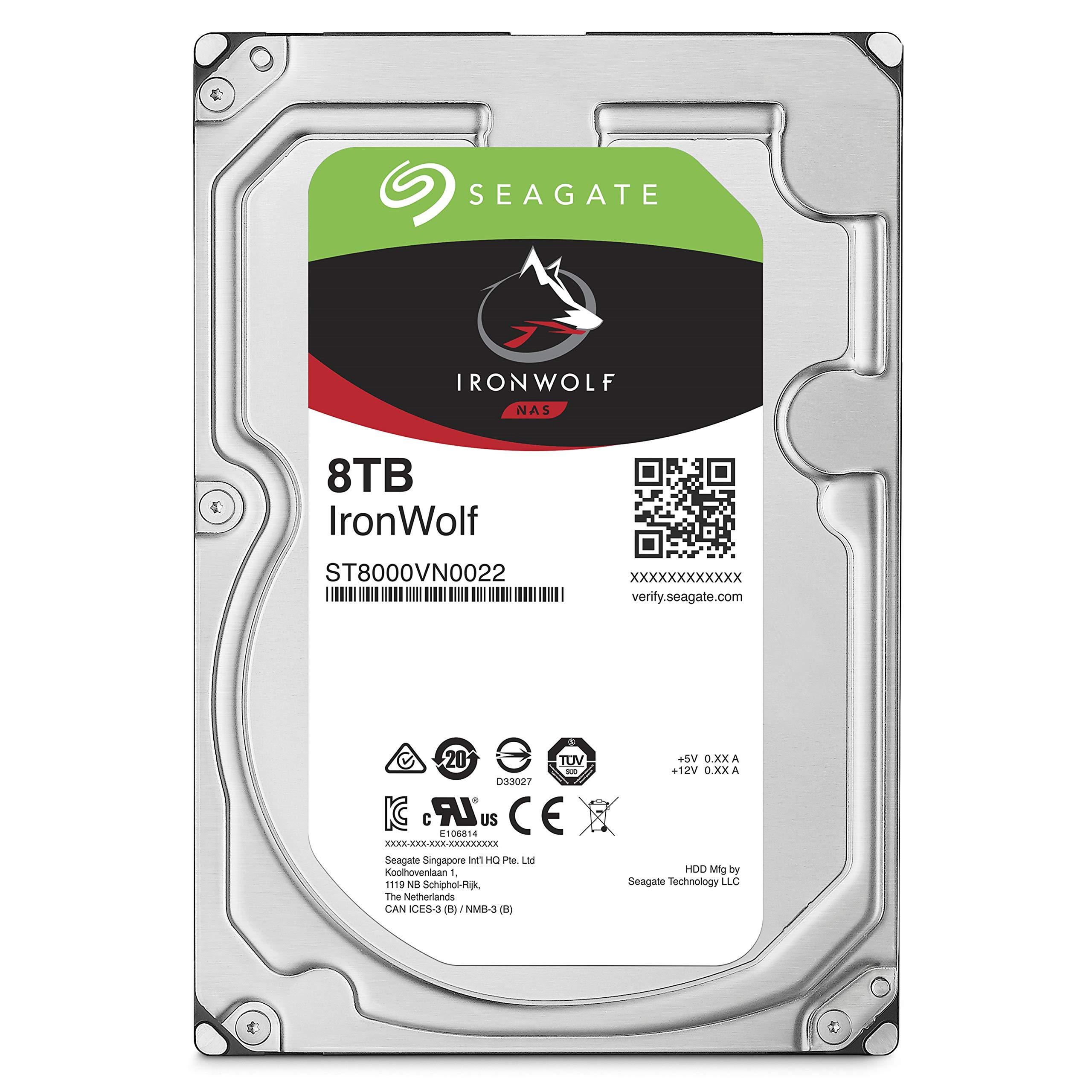 PC NAS用SEAGATEシーゲイトIronWolfクールなオオカミシリーズSATA3 8TB機械ハード256M 7200 rpmでシーゲイト3.5