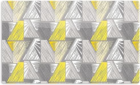 "KESS InHouse Gill Eggleston""Linford""艺术铝磁铁,5.08 厘米 x 7.62 厘米,多色"