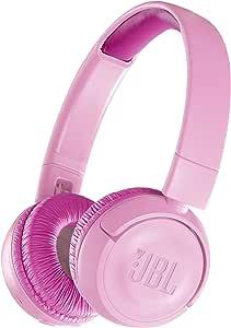 JBL JR300BT 儿童蓝牙耳机 配备音量控制功能 粉色 JBLJR300BTPIK 【国内正规品】