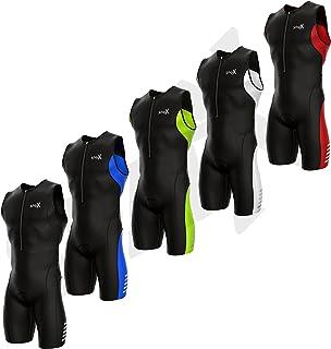 Sparx 男士 Elite 铁人三项套装,SpeedSuit SkinSuit Swim-Bike-Run 铁人三项比赛服