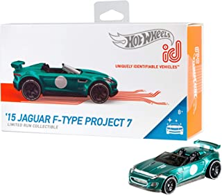 "Hot Wheels ID Tesla 型号 S id '15 Jaguar F-Type Project 7 ""Multi"""