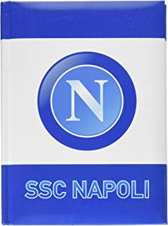 ssc napoli Diario Std 12m 纳波利,14.5 厘米 X 20.6 厘米书包套装,21 厘米 浅蓝色 浅蓝色