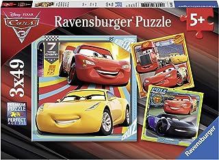 Ravensburger 迪士尼皮克斯汽车总动员 3,3x 49 块拼图