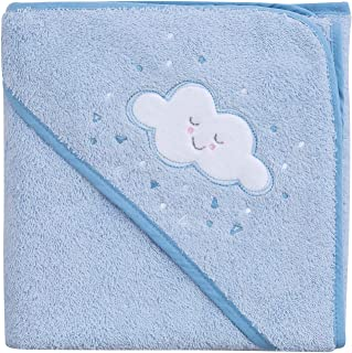 Clevamama Splash and Wrap 婴儿浴巾 蓝色