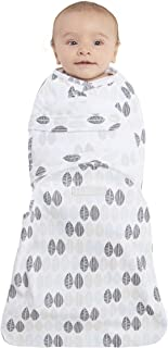Halo Swaddlesure可調節包裹式嬰兒睡袋 葉子 小號