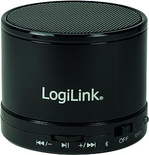 LogiLink 蓝牙音箱带 MP3 播放器 黑色SP0051 黑色