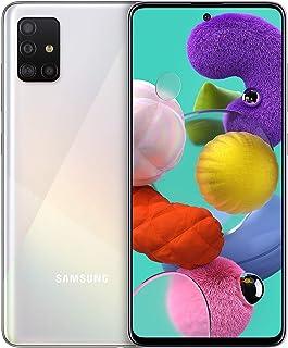 Samsung 三星 Galaxy A51 (16.4 厘米 (6.5 英寸) 128 GB 内部存储器,4 GB RAM,Dual SIM,Android,棱镜白色)德国版