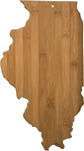 Totally Bamboo Cutting and Serving Board, Illinois State