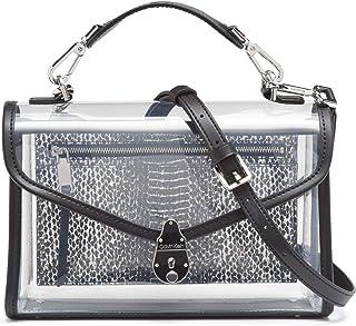 Calvin Klein Lock 斜挎包,透明黑色