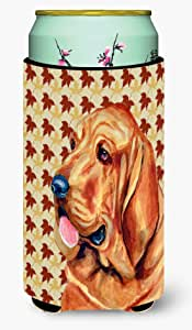 Bloodhound Fall Leaves Portrait Michelob Ultra Koozies for slim cans LH9106MUK 多色 Tall Boy
