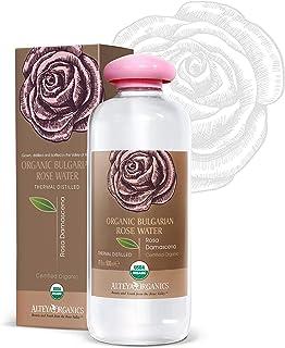 Alteya USDA 有机保加利亚玫瑰水(从新玫瑰收获) 500ml/17Fl Oz