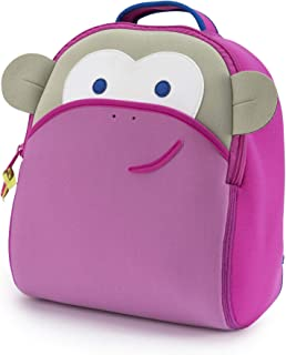 Dabbawalla Bags 学龄前背包 粉色猴子图案 均码