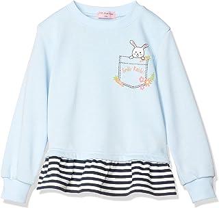 NOAHAR WORLD 罗亚世界 长袖运动衫 1039C 女童内里毛运动衫