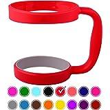 STRATA CUPS 90ml 杯柄(红色)– 16 色 – 提供 907 ml YETI 杯柄、橡木杯、Rambler 杯 – 黑色、灰色、紫色、青色、粉色、灰色、红色等 – 不含 BPA