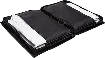 高级旅行袋 - 套装高级 - 黑色,运输 6 件衬衫,不起皱 - 欧洲制造