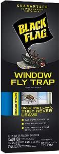 Black Flag Window Fly Trap 1包