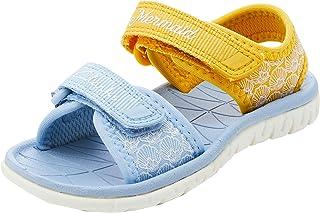 Clarks 女童 Surfing Sea T 封闭凉鞋