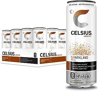 CELSIUS 汽泡可乐健身饮料 12 盎司(约 355 毫升)小罐 12 罐装