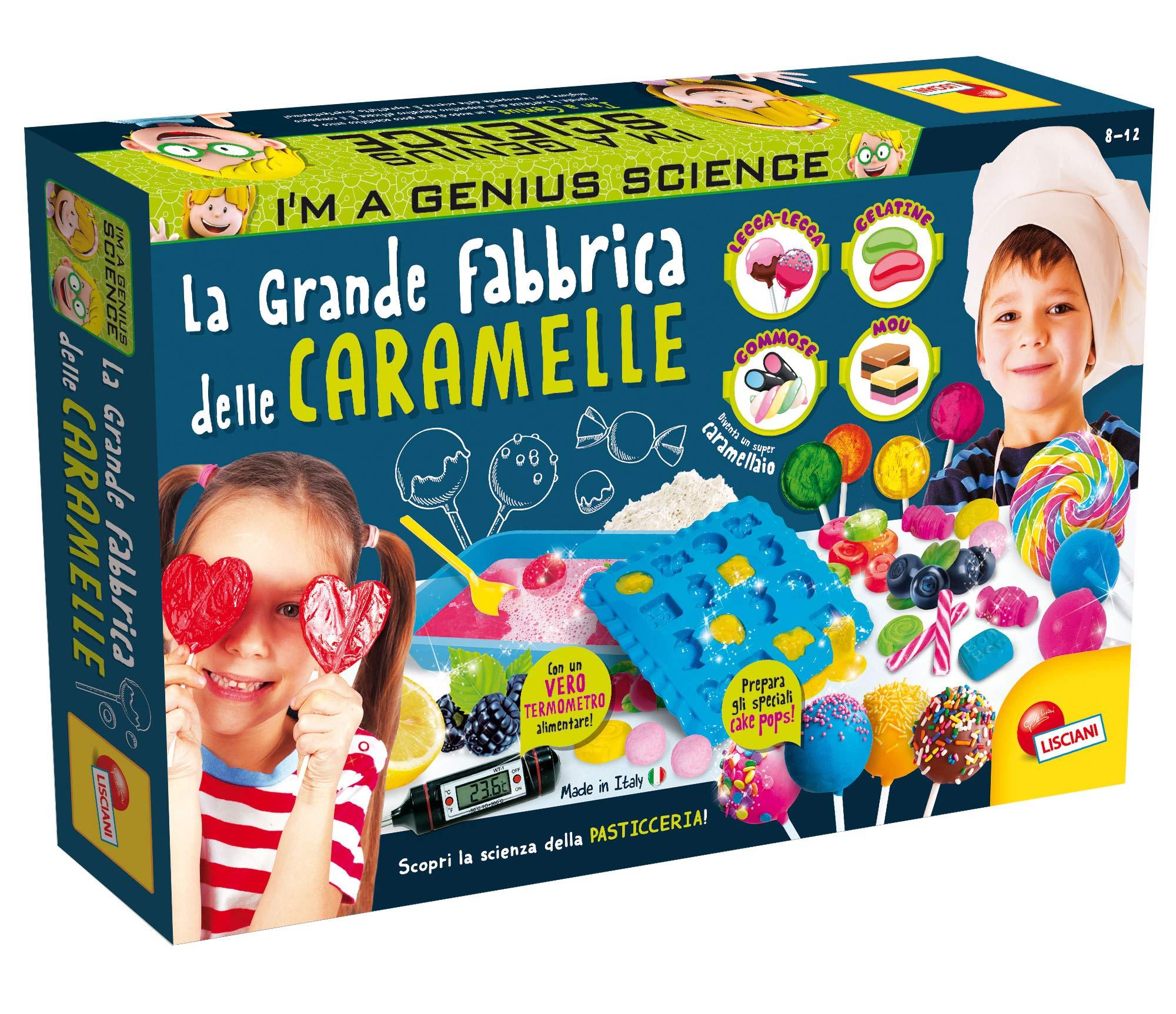 Lisciani Giochi 77472 儿童玩具 I'm a Genius the Great Candy Factory