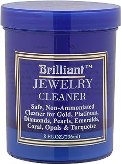 Brilliant 8 盎司珠宝清洁剂带清洁篮和刷子
