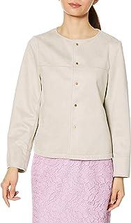 loope Picannic 拉鏈夾克 棉花糖觸感 無領夾克衫 女士 GDL10010