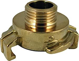 'Oase Promax 微粒快速连接器带阳螺纹黄铜,1 包 44482