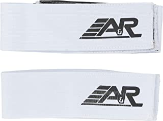 A&R Hockey Shin Straps Heavy Woven Elastic Color Coded For Easy Use