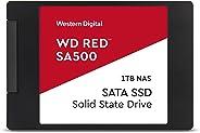WD 西部数据 红色 SA500 NAS 1TB 3D NAND 内置固态硬盘 - SATA III 6 GB/S,2.5