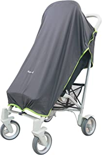 英国Koo-di 便携式万能婴儿车防紫外线遮阳罩 黑色