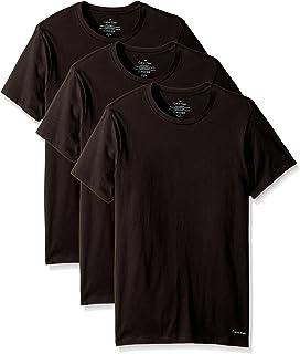 Calvin Klein 卡爾文·克萊恩 男式 棉質經典多件裝圓領T恤