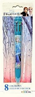 Disney 冰雪奇缘 II 8 色笔 - 彩虹色紫色、粉色、浅蓝色、深蓝色、*、红色、黑色和黄色。