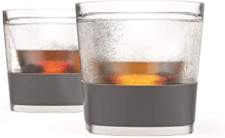 HOST Whiskey Freeze Cooling Cups, 9 oz, Clear